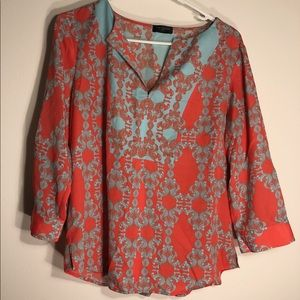 The Limited Patterned Top